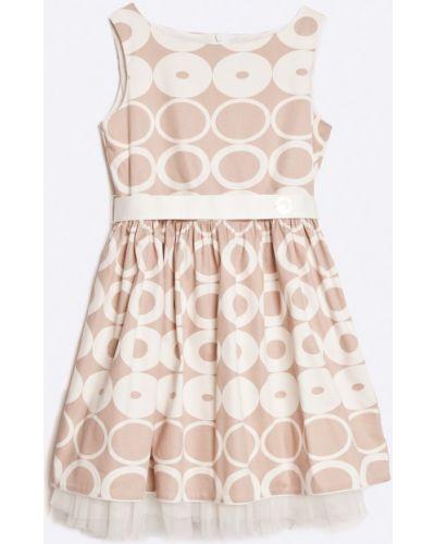 Платье хлопковое с поясом Sly
