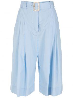 Синие хлопковые шорты Nk
