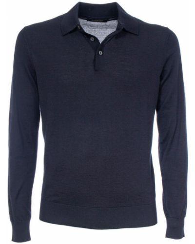 Niebieska koszulka Ermenegildo Zegna
