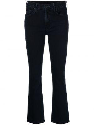 Черные джинсы со средней посадкой Mother
