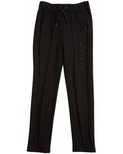 Ze sznurkiem do ściągania czarny joggery z kieszeniami Givenchy