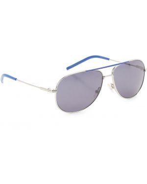 Niebieskie okulary srebrne Baby Dior