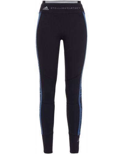 Трикотажные черные леггинсы с карманами Adidas By Stella Mccartney