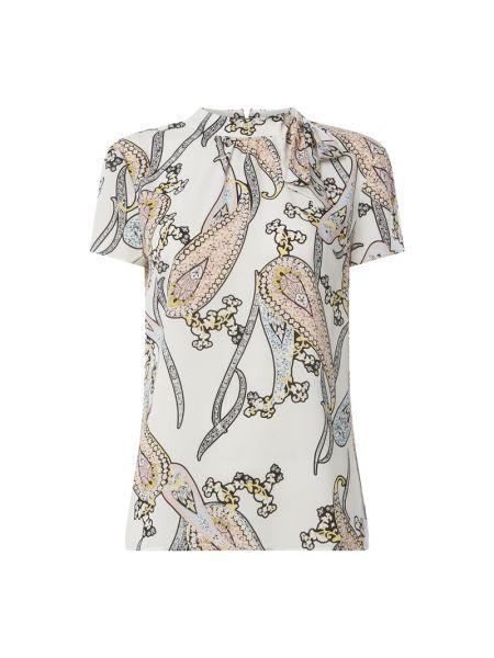 Bluzka z krótkim rękawem z wzorem z kokardą S.oliver Black Label