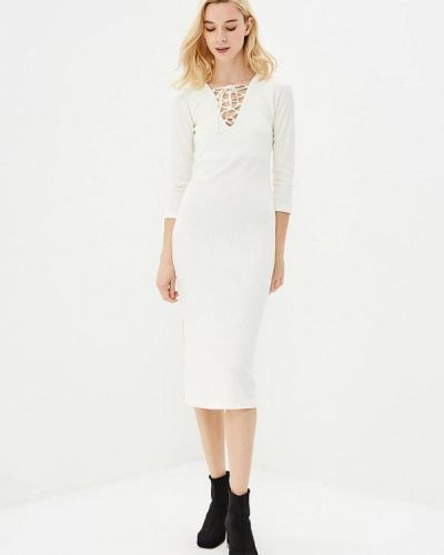 Платье футляр - белое Freespirit