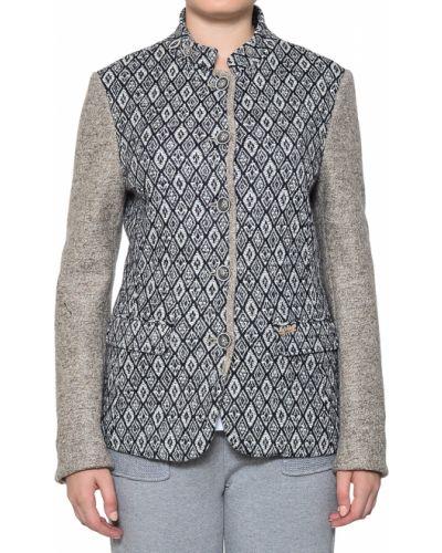 Пиджак шерстяной бежевый Luis Trenker