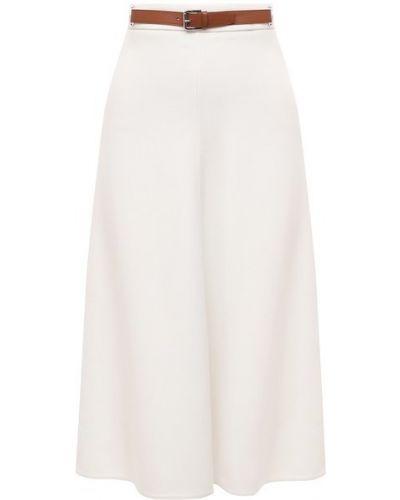 Кожаная юбка - бежевая Ralph Lauren