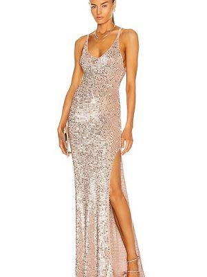 Кружевное платье - золотое Retrofete