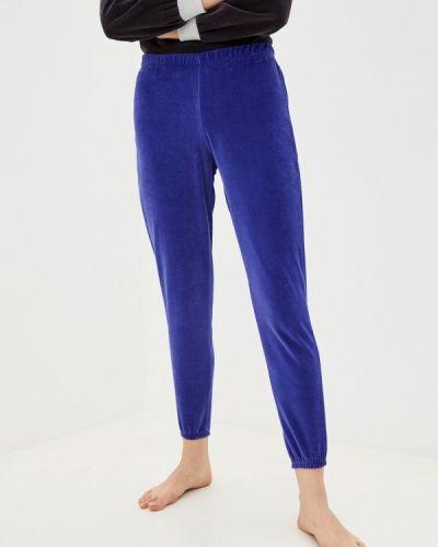 Домашние синие брюки Tenerezza