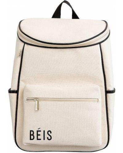 Beżowy plecak skórzany Beis