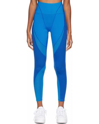Niebieskie rajstopy z siateczką Adidas X Ivy Park
