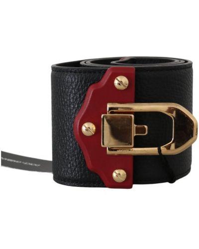 Z paskiem szeroki pasek w paski na paskach Dolce And Gabbana
