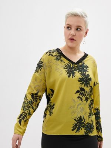 Блузка зеленый хаки Samoon By Gerry Weber