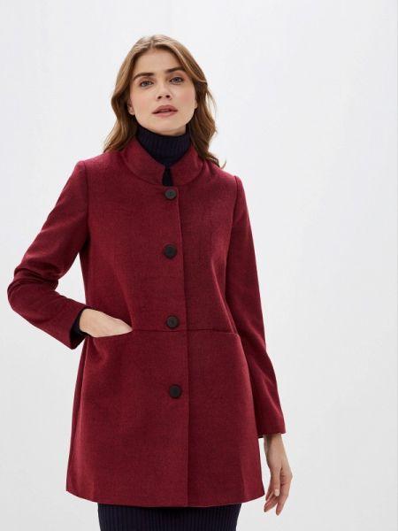 Красное пальто с капюшоном Adl