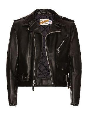 Кожаная куртка - черная Schott