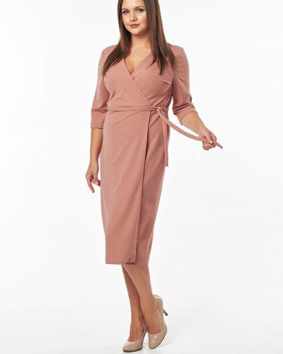 Летнее платье миди с запахом Victoria Filippova