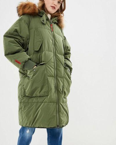 Зимняя куртка осенняя зеленая Freedomday