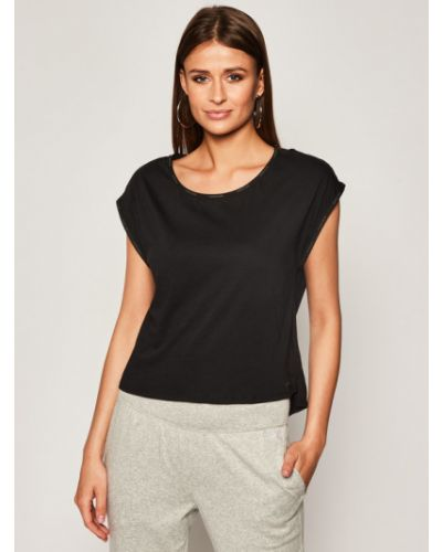 T-shirt - czarna Calvin Klein Underwear