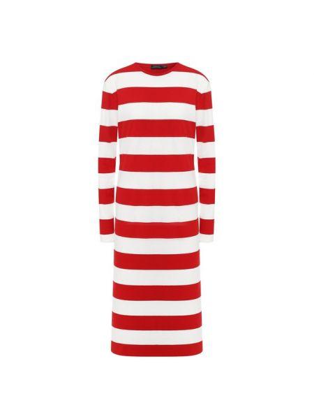 Повседневное платье в полоску мягкое Polo Ralph Lauren