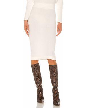 Spódnica z wiskozy - biała Enza Costa