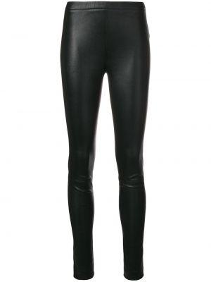 Черные кожаные леггинсы Zadig&voltaire