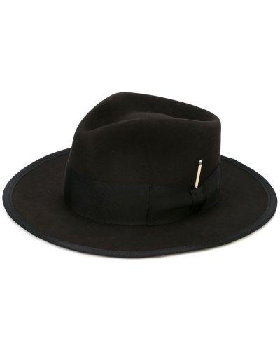 Шляпа черный Nick Fouquet