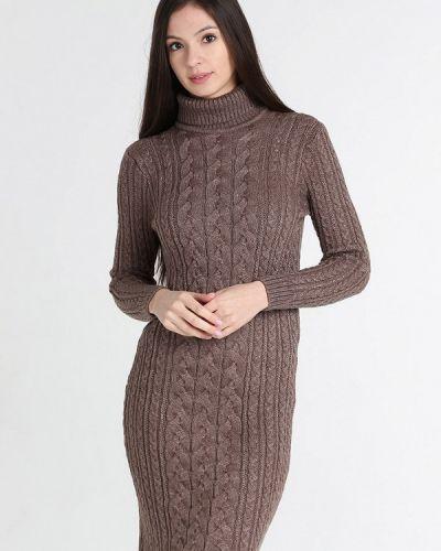 Вязаное платье осеннее Sava Mari