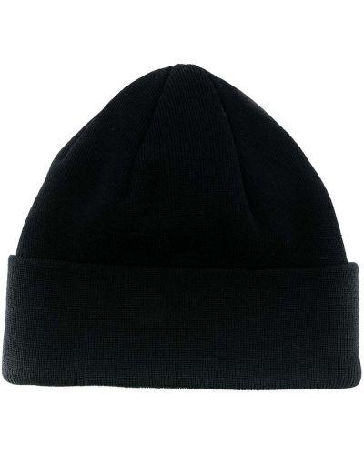 Шерстяная тонкая синяя шапка бини в рубчик A Kind Of Guise