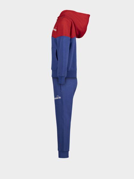 Спортивный костюм в рубчик - синий Diadora