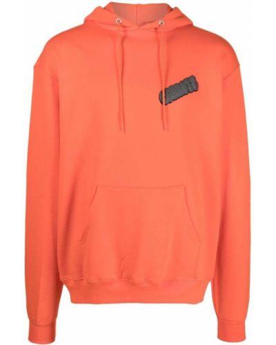 Czarny sweter z kapturem Carrots
