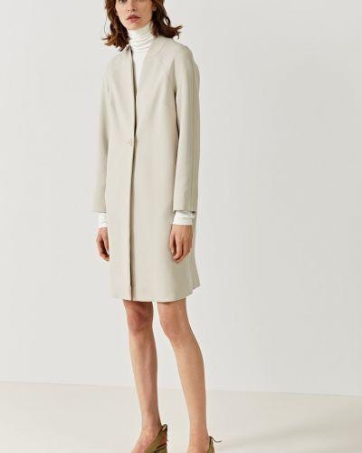 Утепленная куртка на пуговицах с рукавом реглан Simple