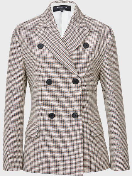 Шерстяной пиджак на пуговицах Rochas