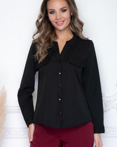 С рукавами блузка из вискозы с V-образным вырезом Bellovera
