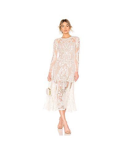 Вечернее платье в стиле бохо с цветочным принтом Bronx And Banco