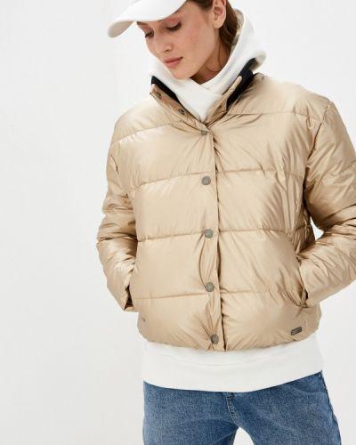 Утепленная куртка золотая Roxy