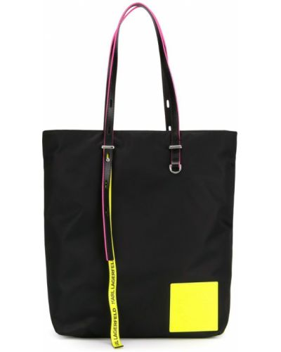 Сумка шоппер с пряжкой с логотипом Karl Lagerfeld