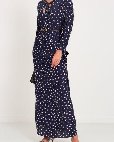 Платье с декольте шелковое P.a.r.o.s.h.