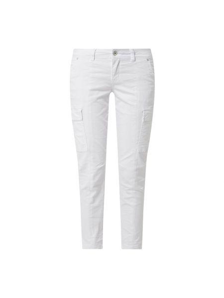 Białe spodnie bawełniane Buena Vista