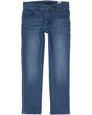 Синие джинсы с поясом Ikks Junior