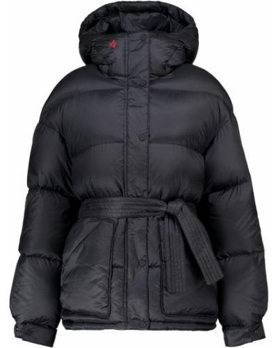 Черная пуховая куртка винтажная Perfect Moment