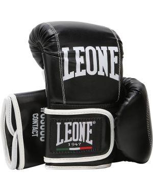 Czarne rękawiczki skorzane Leone 1947