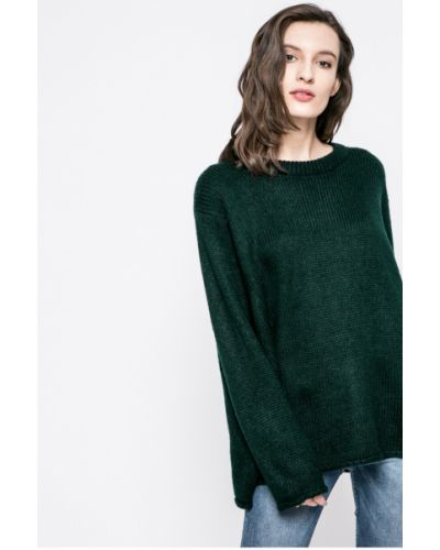 Свитер свободного кроя зеленый Answear