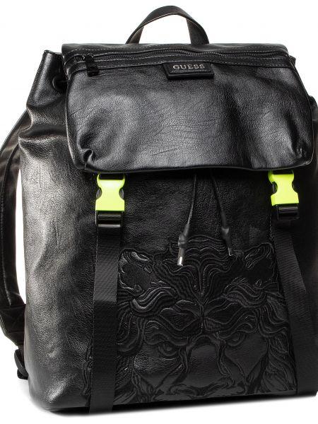 Plecak na torbę czarny plecak Guess
