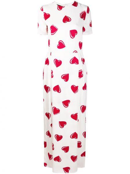 Приталенное платье мини винтажное на молнии Moschino Pre-owned
