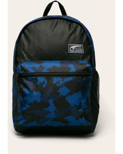 Plecak na laptopa z paskami z wzorem Puma