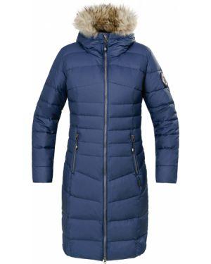 Пальто с капюшоном - синее Red Fox