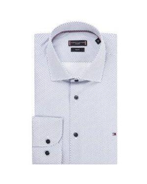 Koszula klasyczna lato z nadrukiem Tommy Hilfiger Tailored