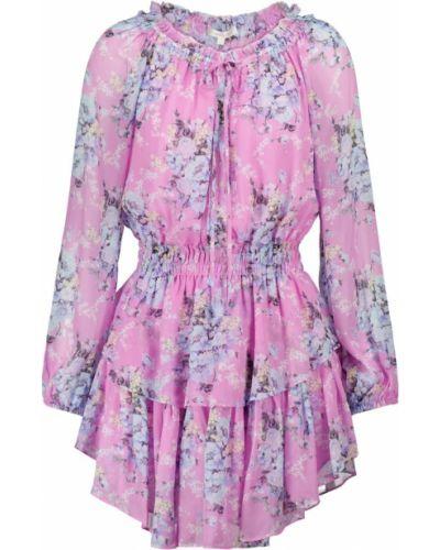 Różowa sukienka z wiskozy Loveshackfancy