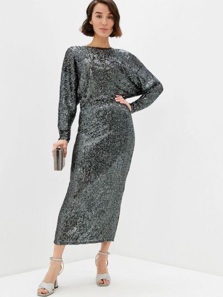 Вечернее платье серебряный клубное Concept Club