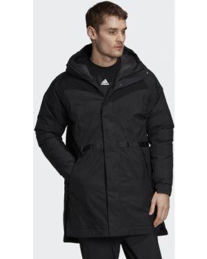 Городская черная куртка Adidas